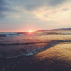 When I wanted to be alone and by accident I went to the most beautiful beach in the world. California