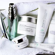 Our skincare routine featuring treatments we love. #ANEWyou