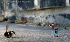 Sofunkylicious: [Book] Little People in the City : mini street art