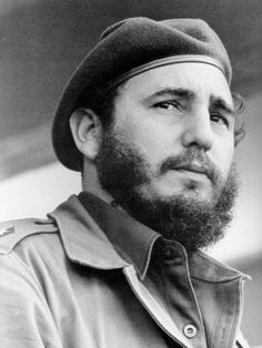 Fidel Castro- lead failed attack and jailed. Sets for Mexico but lands in Cuba and launches military campaign. Dictator flees and Castro is prime minister. Founded communist party of Cuba. Cuba Fidel Castro, Cuban Leader, Che Guevara, Famous Speeches, Rock Poster, Portraits, Gulf Of Mexico, Okinawa, Beard Styles