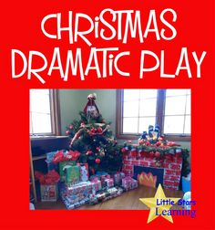 Little Stars Learning: Christmas Dramatic Play