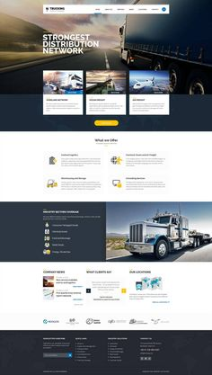 psd to html Web design layout website template design psd to html responsive website landing page design emait template Design Sites, Design Jobs, Web Design Websites, Site Web Design, Graphisches Design, Homepage Design, Truck Design, Web Design Trends, Web Design Company