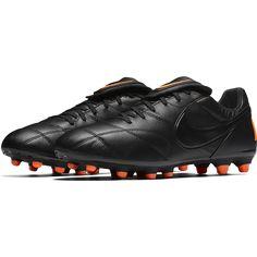 Nike Premier II FG Soccer Cleat - Black Black Total Orange Turuncu b6ce62fa89c19