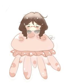 Princess jellyfish Jellyfish Images, Princess Jellyfish, Peaceful Life, 3d Wallpaper, Anime Shows, Nerdy, Otaku, Anime Art, Kawaii