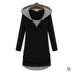 Fashion Hooded Long-sleeved Sweatshirts