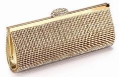We Best Price Diamond Eveningbag High Grade Full Rhinestone Dinner Bag/Clutch Purse/Bridal Wedding Bag NO3086 black silver&gold $22.01 - 22.48