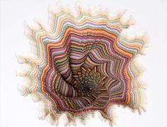 crazy paper cut art by jen stark