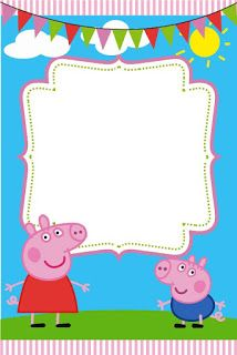 Peppa Pig Party Invitation Template Best Of Peppa Pig Birthday Party Invitation Template - Simple Template Design Invitacion Peppa Pig, Cumple Peppa Pig, Peppa Pig Birthday Invitations, Birthday Invitation Templates, Invitation Maker, Peppa E George, George Pig, Peppa Pig Printables, Free Printables