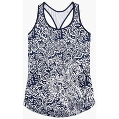 New Balance For J.Crew Perfect Tank Top ($60) ❤ liked on Polyvore featuring activewear, activewear tops, new balance and new balance activewear