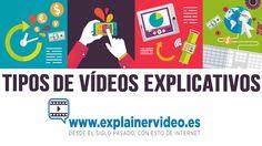 #VideosExplicativos #ExplainerVideos Conoces los diferentes tipos de vídeos explicativos? En este poste te los contamos.