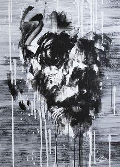 Las oscuras, tenebrosas y sugerentes pinturas de Tom French