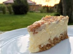 Ich habe es schon einmal angedeutet: Für mich gibt es nichts köstlicheres als . I have already hinted at this: for me there is nothing more delicious than a creamy cheesecake. Lemon Desserts, Fun Desserts, Dessert Recipes, Healthy Desserts, Delicious Desserts, Pecan Recipes, Sweet Recipes, Cheesecake Factory Recipes, Sweet Bakery