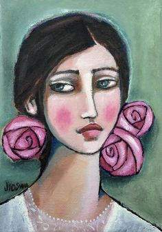 Paper Flowers in Her Hair by Jennifer Yoswa