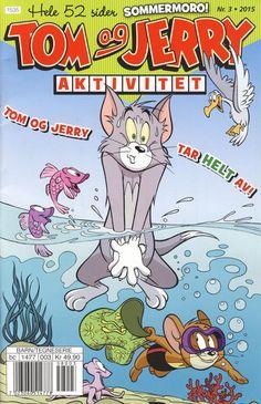 GCD :: Cover :: Tom og Jerry Aktivitetshefte; Tom og Jerry Aktivitet #3/2015 Tom Og Jerry, Bugs Bunny, Looney Tunes, Turtle, Toms, Barn, Comic Books, Funny, Cover