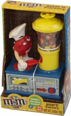 M&M'S® MOTORIZED CANDY FACTORY DISPENSER (YELLOW VERSION)
