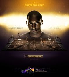 Kobe Bryant - Enter The Zone by Rasmus Wangelin, via Behance Kobe Bryant 8, Lakers Kobe Bryant, Air Max 2009, Air Max Thea, Kobe Lebron, Kevin Durant Shoes, Love And Basketball, Basketball Design, Sports Basketball