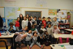 Emily Meneghin - Fall 2013 - Individual Approval program - F&M Everywhere - Padua (Padova), Italy- In Bambini I was so fortunate to assist teaching English at a local elementary school in my host city. I had two classes, so these are only some of my students. I loved the chance to teach them about Thanksgiving and how Americans celebrate Christmas as well as inspire them to be their best. Each one had a memorable personality, and I'll never forget them.