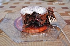Molten Raspberry Chocolate Cake