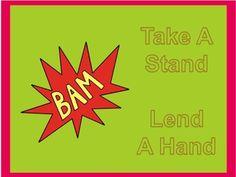 Superhero Anti-Bullying Posters $0