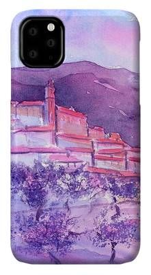 Gordes Provence France IPhone Case for Sale by Sabina Von Arx Morning Sunrise, Creative Colour, Provence France, Painting Techniques, Colorful Backgrounds, Fine Art America, Photo Art, Have Fun, Original Paintings
