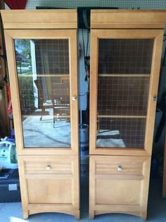 tall cabinets $75