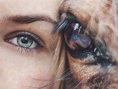 Et dans ces yeux, je me vois.