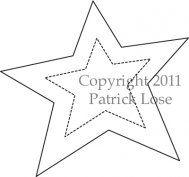 Primitive Star Template Printable