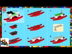 LEGO instructions - Monthly Mini Model Build - 40072 - Rocking Horse (12-2013) - YouTube Lego Ornaments, Lego Store, Lego Instructions, Legos, Horses, Mini, Building, Youtube, Model