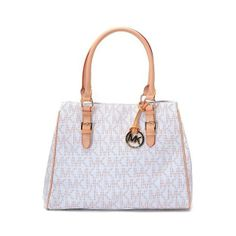 MICHAEL Michael Kors Large Hamilton Whipstitch Tote Vanilla Stud-trim  Leather only $72 | Cute Outfits | Pinterest | Michael kors sale and Michael  kors