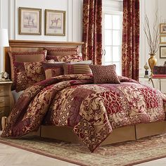 Croscill® Ryland Reversible Comforter Set