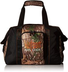 Watson Airlock WaterScent Free Mini Camo Carrier APXOrange 19x16x9Inch *** Details can be found by clicking on the image.