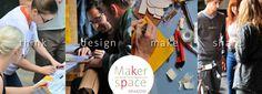 """""""Makersi"""" podczas Maker Weekend stworzyli interdyscyplinarne zespoły złożone z entuzjastów technologii, artystów designerów oraz przedstawicieli nauk społecznych rozwiązują palące problemy społeczne."""