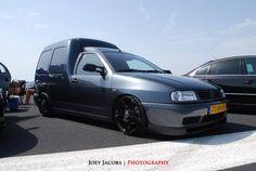 VW Caddy MK2 on VW Touareg wheels