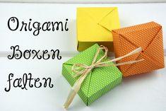 Origami Box falten mit Anleitung! DIY