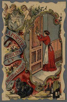 [Felicitaciones de Navidad de oficios.. Grabado — 1900-1940