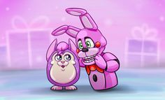 Omg Tattletail and Bonnet!!! Perfect combination!!
