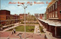 This architectural beauty treatment for a deteriorated market area has drawn widespread interest among community development officials throughout the United States and is one of Knoxville's newer attractions for visitors Tennessee Usa, University Of Tennessee, Smoky Mountains Cabins, U.s. States, United States, Old Photos, Mall, Beautiful Places, Exterior