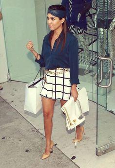 Kourtney Kardashian de turbante.