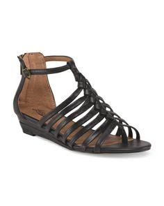 Jalena Flat Sandals