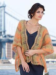 Dorothy Ripple Shawl Knit Pattern