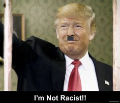 I hear you're racist now Donald?? #FrTed #Trump
