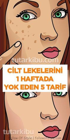Yüzdeki Lekeleri 1 Haftada Yok Eden Tarifler One of the most common skin problems that many people experience is skin spots on the face. In this article we will give you homemade medicine recipes that Winter Beauty Tips, Daily Beauty Tips, Beauty Tips For Hair, Best Beauty Tips, Natural Beauty Tips, Beauty Care, Beauty Hacks, Cut Crease Makeup Tutorial, Make Up Tutorial Contouring
