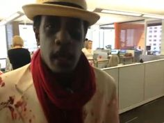 Walking dead @engauge employees pushing #beercart [video] #ilovemyjob #zombies