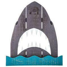 Shark Wood Wall Decor