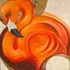 Brassai Gabi :flamingo