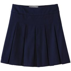 Cherokee Girls' School Uniform Pleated Scooter (54 RON) ❤ liked on Polyvore featuring skirts, school, baby, bottoms and kids
