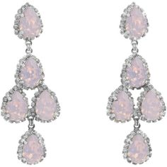 Pink Opal Erickson Beamon Earrings