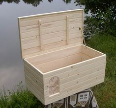 CAT LITTER BOX ENCLOSURE $80.00 Cat Litter Box Enclosure Made Out Of  Reclaimed Wood And Pallets And Stained To Match The Bathroomu0027s Decor. Great  Fu2026