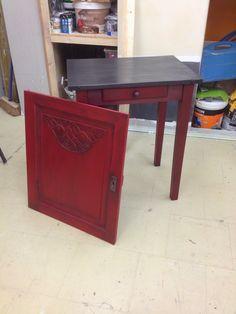 Cours de Bricolage.admt: Peinture sur meuble : finition patine noir graphit...