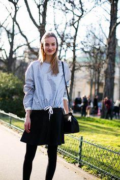 Street Style en Paris Fashion Week, marzo 2015 © Soren Jepsen